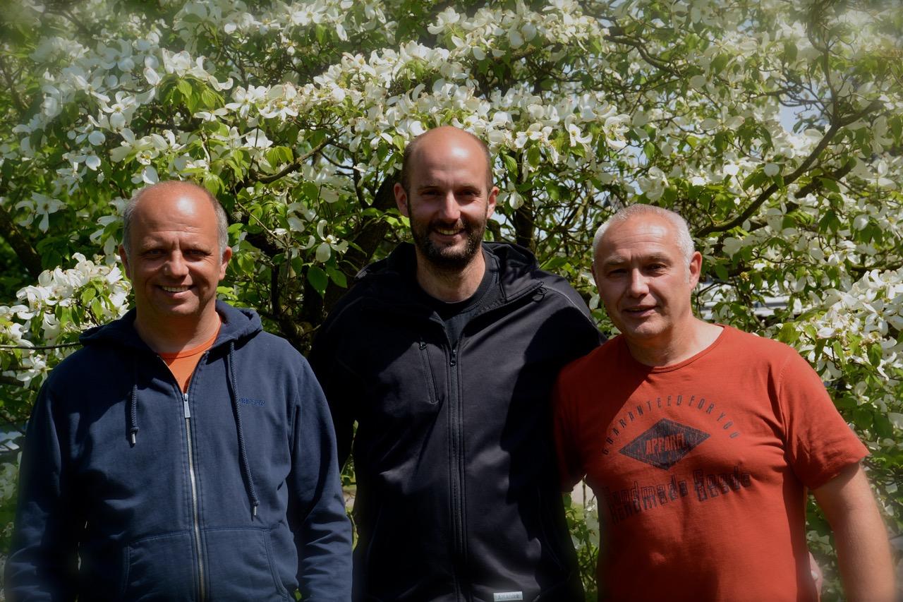 v. l.: Helmut Peine, Matthias Dempki und Frank Hahn