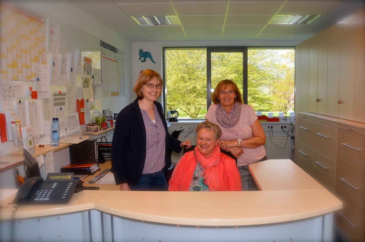 v. l.: Rita Tigges, Iris Reinke und Margit Jasper